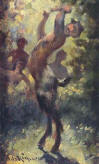 Alexandre de Riquer:  Faun (Private collection)